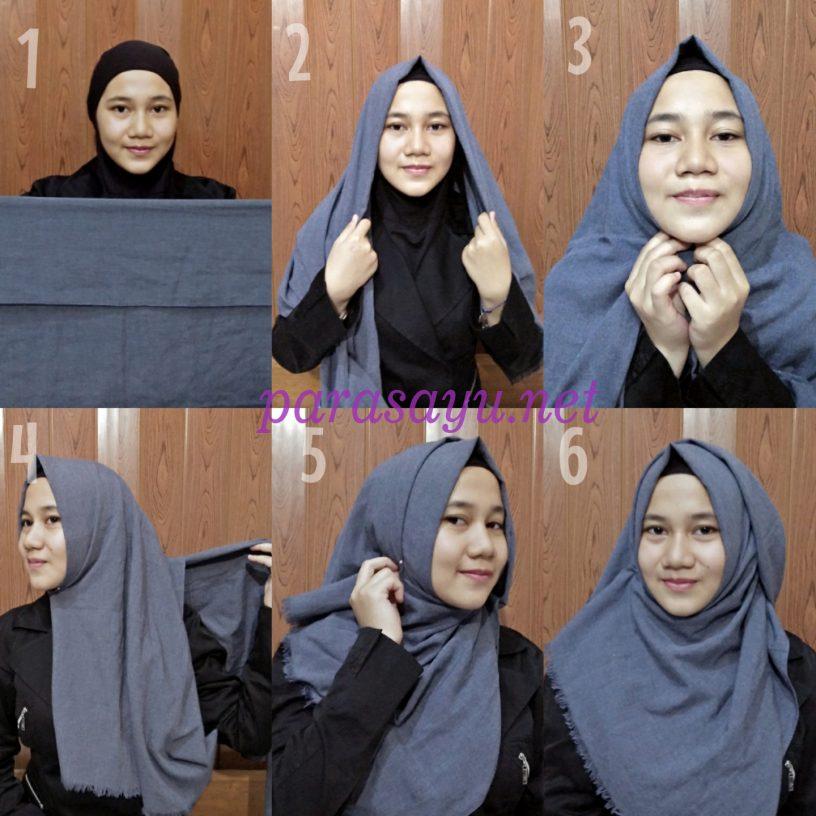 Membuat Hijab Dengan Mudah