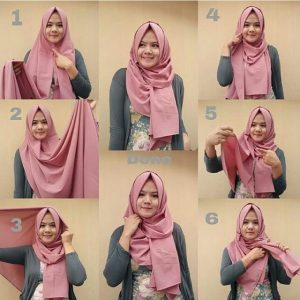 Cara Membuat Hijab Untuk Remaja