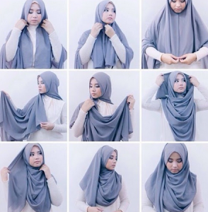 Tutorial Hijab Paris Simple Untuk Kuliah