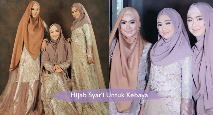 7 Model Hijab Syar I Untuk Kebaya Ini Wajib Kamu Coba