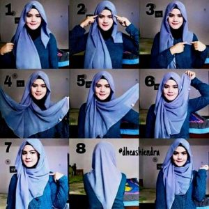 Hijab Syar'i Untuk Kebaya