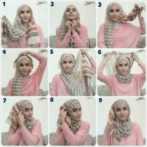 Trend Hijab Pashmina Terbaru