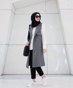 Cara Hijab Buat Wajah Bulat