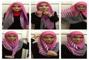 Trend Hijab Kerudung Paris
