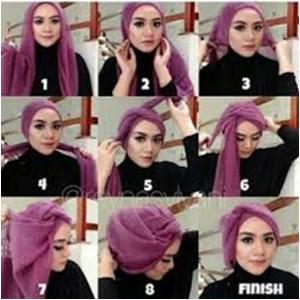 Trend Hijab Pesta Terbaru