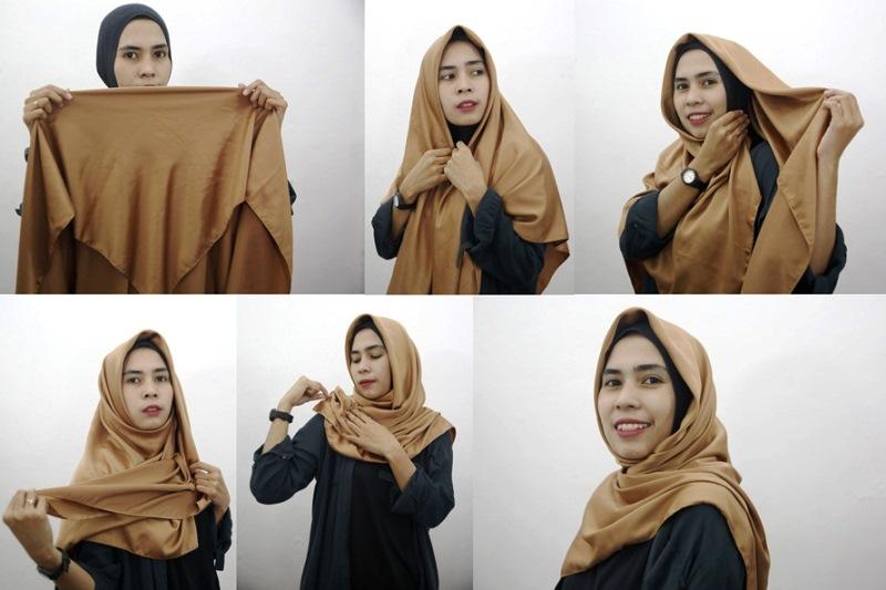 9 - 10 Tutorial Hijab Paris yang Simple Cocok untuk Hangout