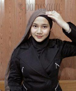 Langkah 2, Tutorial Hijab Remaja Masa Kini