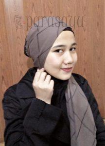Langkah 3, Tutorial Hijab Remaja Masa Kini