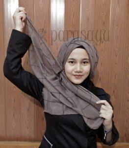Langkah 6, Tutorial Hijab Remaja Masa Kini