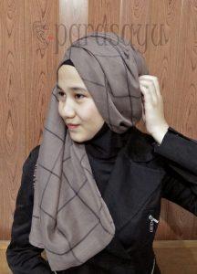 Langkah 7, Tutorial Hijab Remaja Masa Kini