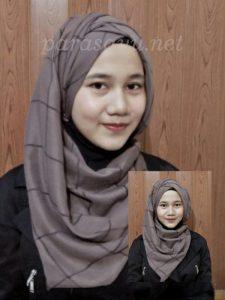 Hasil Tutorial Hijab Remaja Masa Kini