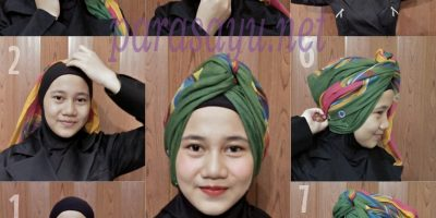 Hijab Model Turban