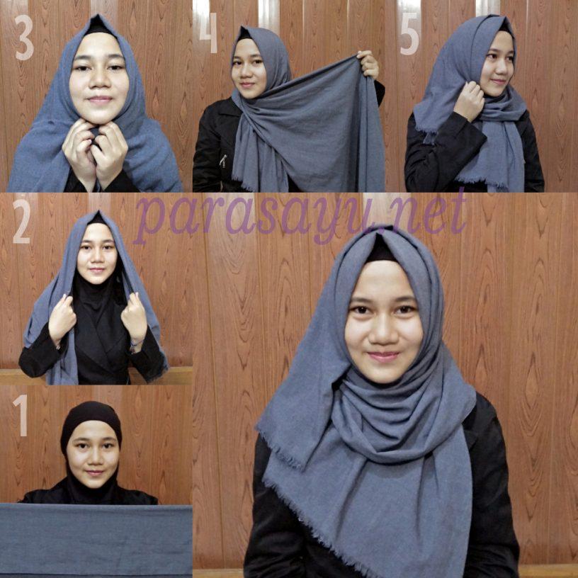 Langkah Keseluruhan 2 816x816 - 5 Langkah Mudah Cara Hijab Yang Simpel Tapi Menarik Yang Bisa Kamu Coba
