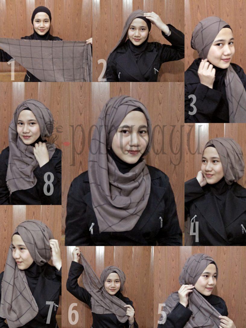 Tutorial Hijab Remaja