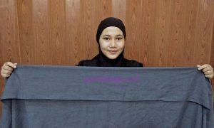Membuat Hijab Dengan Mudah, Langkah 1