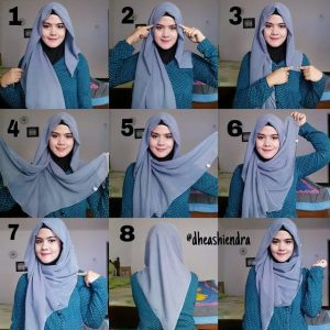 Tutorial Hijab Paris Simple Untuk Kuliah