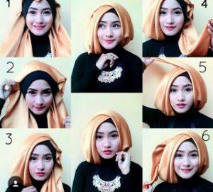 Cara Hijab Wisuda Simple