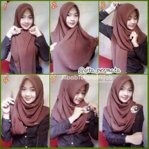 Fashion Hijab Casual Remaja