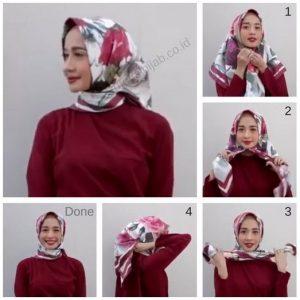 Tutorial Hijab Paris Simple Untuk Sehari Hari