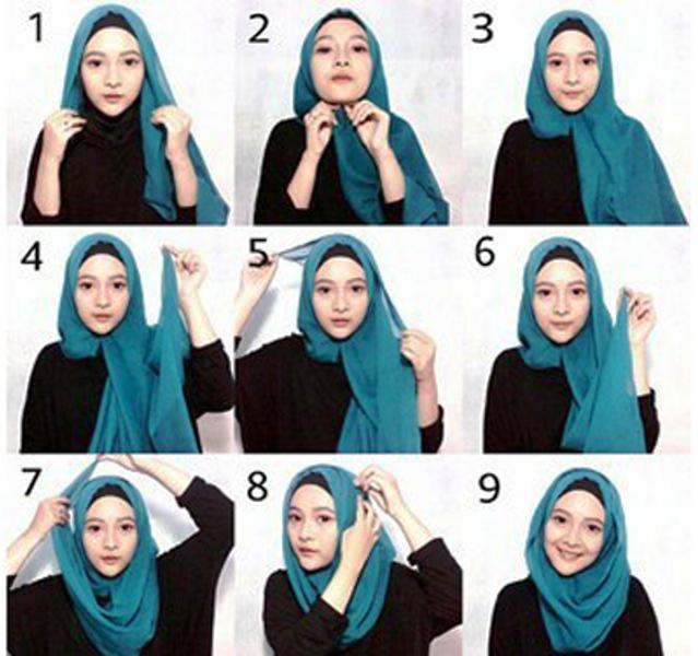 10 Tutorial Hijab Paris Yang Simple Cocok Untuk Hangout Parasayu Net