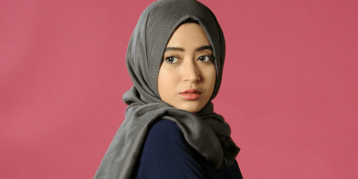 tutorial hijab paris yang simple