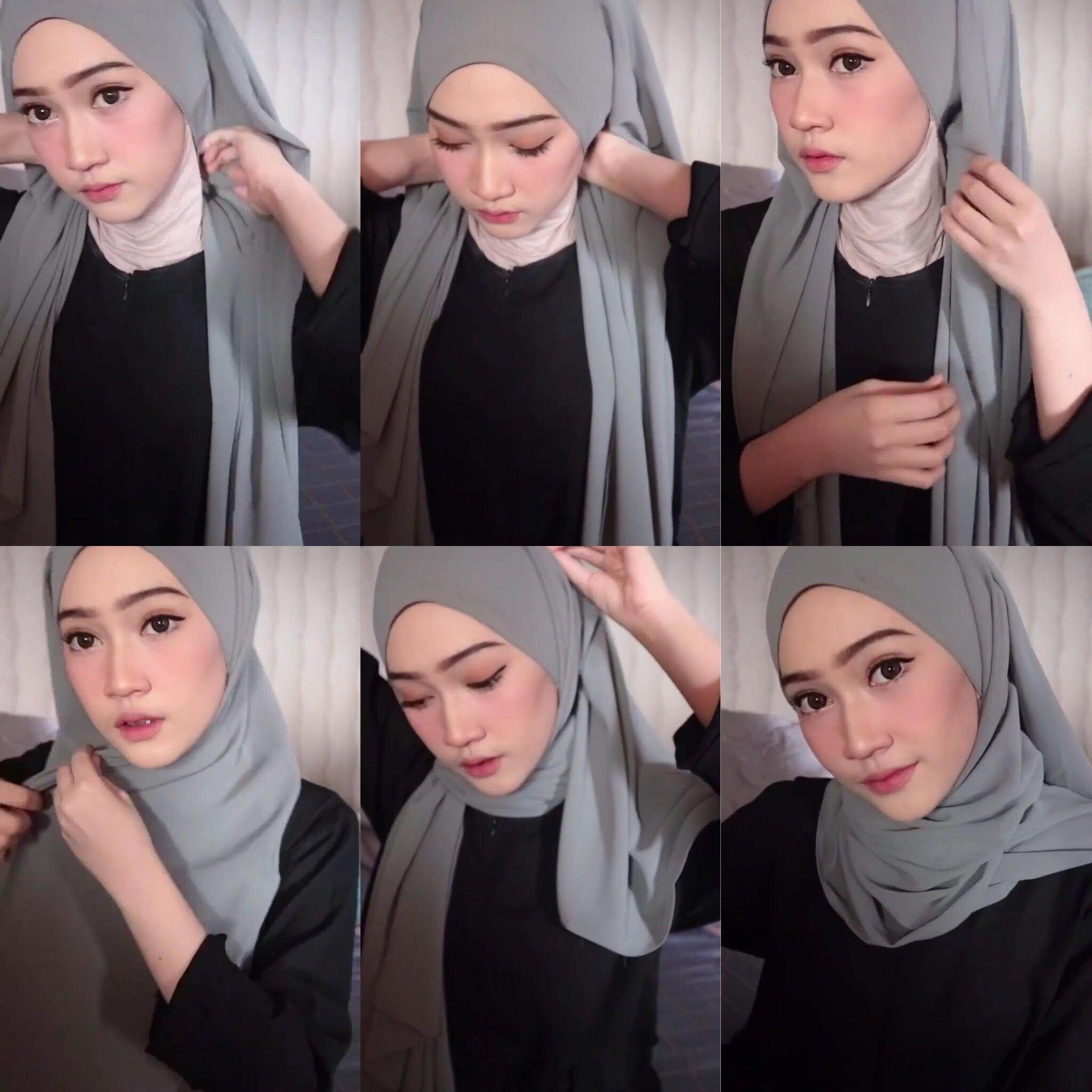 7 Tutorial Hijab Pashmina Yang Mudah Ala Hijabers Parasayu Net