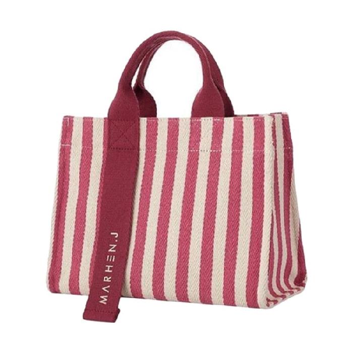 3. MARHEN J Mini Rico Stripes Hand Bag - 7 Tas Wanita Yang Terbaru Yang Cocok Melengkapi Koleksi Kamu