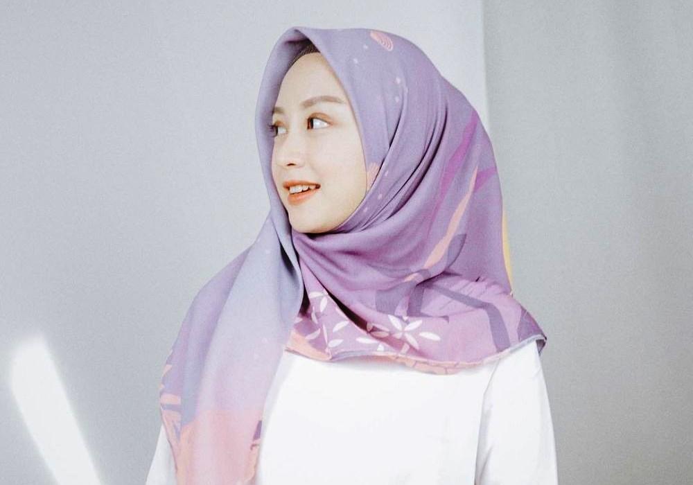 Tutorial Hijab Segiempat Yang Mudah