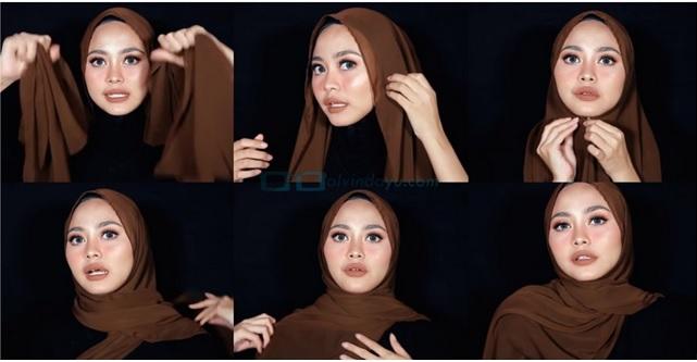 5 Tutorial Hijab Pashmina Segala Keperluan Parasayu Net
